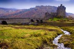 Castle Ellian Donel Στοκ φωτογραφία με δικαίωμα ελεύθερης χρήσης