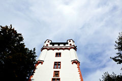 Castle in Eltville, Germany. Facade of old castle in Eltville, Germany Royalty Free Stock Image