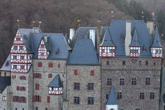Castle eltz in germany Royalty Free Stock Images