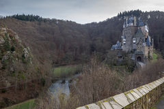 Castle eltz in germany. A view on castle eltz in germany Stock Photos