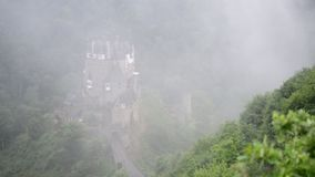 Castle Eltz stock footage