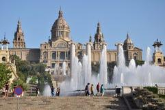 Castle EN Ισπανία Στοκ φωτογραφίες με δικαίωμα ελεύθερης χρήσης