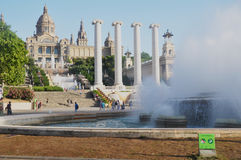 Castle EN Ισπανία Στοκ φωτογραφία με δικαίωμα ελεύθερης χρήσης