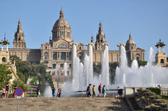 Barcelona gallery Royalty Free Stock Photos