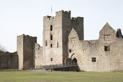 Castle entrance Royalty Free Stock Photography