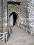 Castle Entrance. Doorway of a castle Stock Photography
