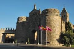 Castle entrance. Castle - Toledo - Spain Royalty Free Stock Image