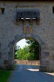 Castle entrance gate Stock Photos