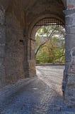 Castle entrance gate Stock Photography