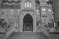 Castle entrance Stock Images
