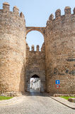 Castle entrance in Serpa Royalty Free Stock Photo