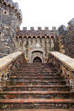 Castle Entrance Steps Royalty Free Stock Images