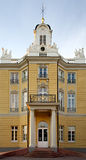 Castle Entrance. Entrance to the castle in Karlsruhe royalty free stock image