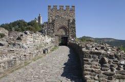 Castle Entrance. Entrance of the Castle in Veliko Tarnovo, Bulgaria Royalty Free Stock Photo