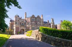 Castle entry way Royalty Free Stock Photo