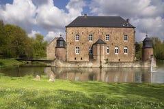 Castle Erenstein in Kerkrade. Castle Erenstein in the Anstel valley in the Dutch town Kerkrade stock photo
