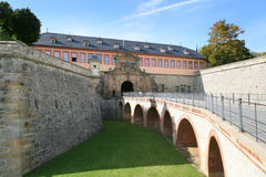 Castle of Erfurt stock photography
