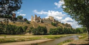 Castle of Escalona, Avila, Castilla y Leon, Spain Stock Photos