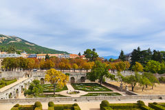 Castle Escorial near Madrid Spain Royalty Free Stock Photography