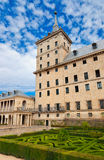 Castle Escorial near Madrid Spain Stock Photo