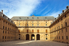 Castle Escorial near Madrid Spain Stock Photos