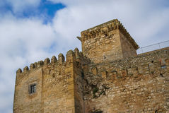 Castle at Espejo, Andalusia, Spain Stock Image