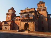 The Castle Estense Royalty Free Stock Photos