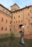 Castle Estense in Ferrara, Italy Royalty Free Stock Images