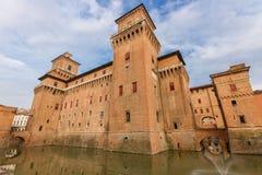 Castle Estense in Ferrara, Italy Royalty Free Stock Image