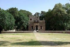 Castle in Ethiopia. The baths of Fasilidas in Gondar, in Ethiopia Royalty Free Stock Photos