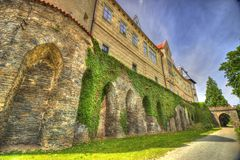 Castle in Europe royalty free stock photo