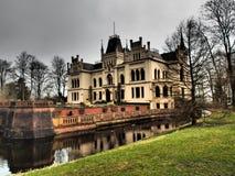 The castle evenburg in the german City Leer. The Castle evenburg in the german City of leer Stock Photo