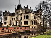 The castle evenburg in the german City Leer. The Castle evenburg in the german City of leer Royalty Free Stock Photos