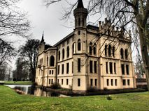 The castle evenburg in the german City Leer. The Castle evenburg in the german City of leer Stock Images
