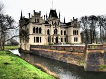The castle evenburg in the german City Leer. The Castle evenburg in the german City of leer Stock Image