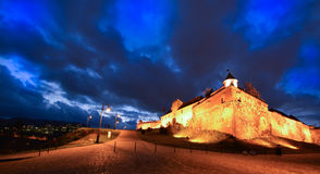 Castle in evening time Royalty Free Stock Image