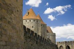 Castle exterior Stock Images