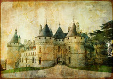 Castle from fairy tale Stock Photo