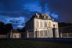 Castle falkenlust germany in the evening Royalty Free Stock Photos