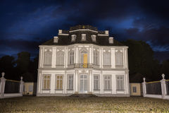 Castle falkenlust germany in the evening Stock Photos
