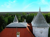Castle Fantast in Serbia royalty free stock photography