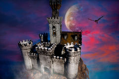 Castle fantasy Royalty Free Stock Photography