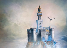 Castle fantasy Royalty Free Stock Photos