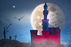 Castle fantasy Stock Photography