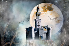 Castle fantasy Royalty Free Stock Image