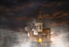 Castle fantasy Royalty Free Stock Images