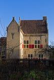 Castle Farm in Dutch Open Air Museum in Arnhem Stock Image