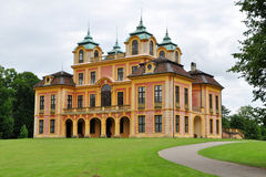 Castle Favoriten in Ludwigsburg. Summer residenco of Ludwigsburg castle in Germany Royalty Free Stock Photography