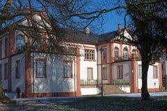 Castle Fechenbach in Dieburg stock photography