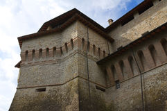 Castle of Felino. Emilia-Romagna. Italy. Royalty Free Stock Images